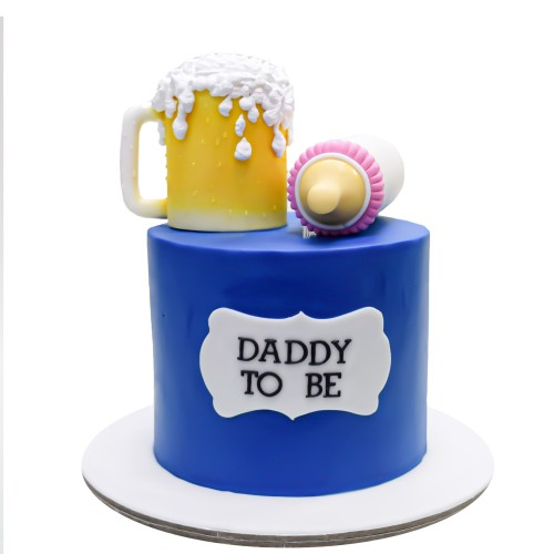 daddy to be cake 7