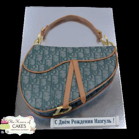 christian dior saddle bag cake green 6