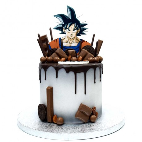 dragon ball goku cake 3 6