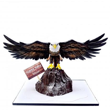 3d eagle shaped cake 12