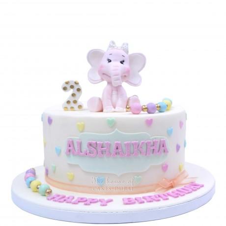cute elephant cake 5 6