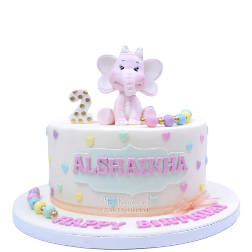cute elephant cake 5 7