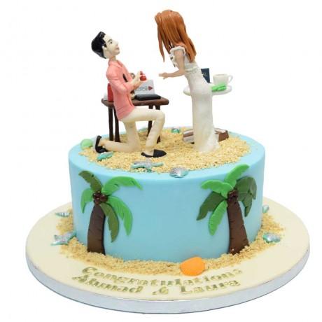 engagement cake 8 12