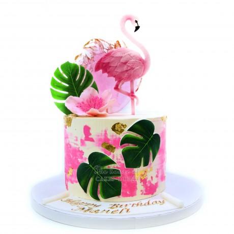 flamingo cake 1 12