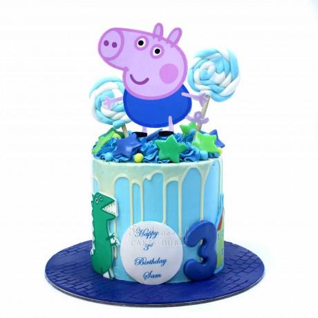 george pig cake 6
