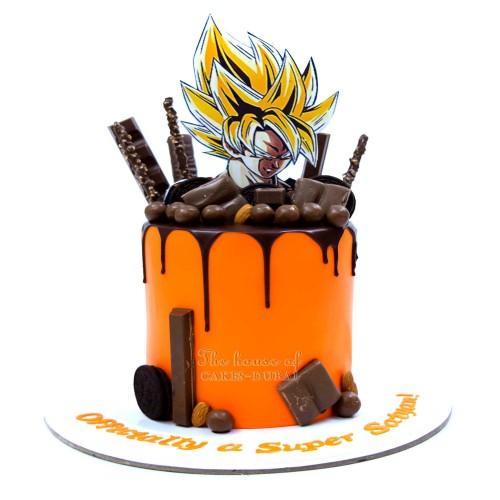Dragon Ball Goku Cake 4