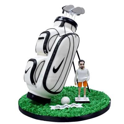 Golf Bag Cake 4