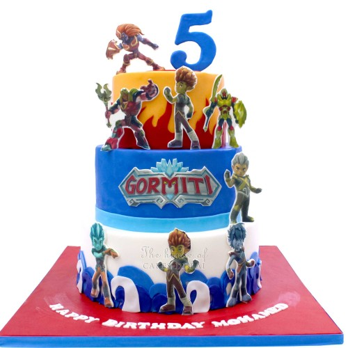 gormiti cake 2 13