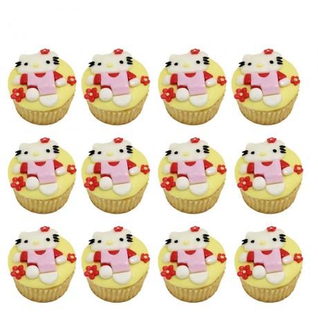 hello kitty cupcakes 4 12