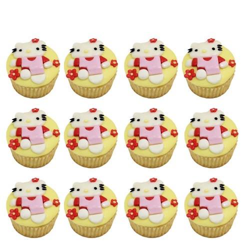 Hello Kitty Cupcakes 4