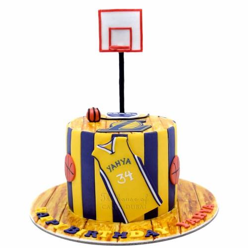 lakers basketball cake 7