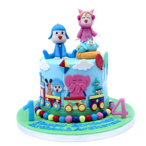 pocoyo cake 6 7