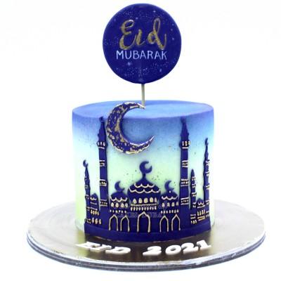 Eid Mubarak Cake for Ramadan