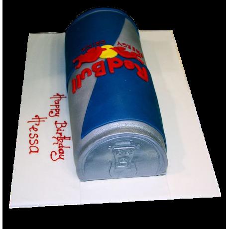 cake red bull 6