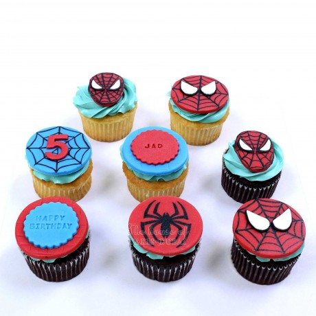 spiderman cupcakes 2 12