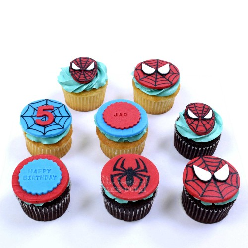 spiderman cupcakes 2 13