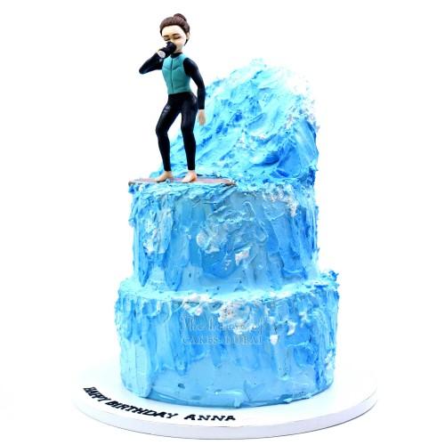 Surfer Cake 3