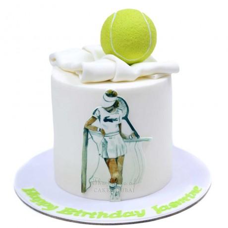tennis cake 2 6