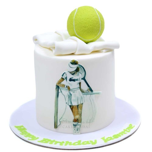 tennis cake 2 7