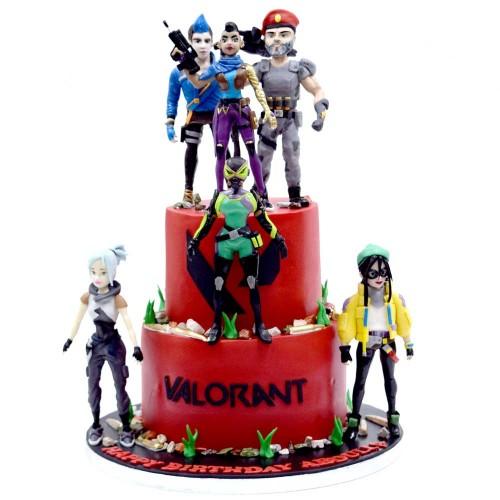 valorant cake 2 7