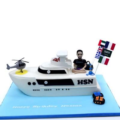 Yacht Cake 6