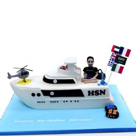 yacht cake 6 12