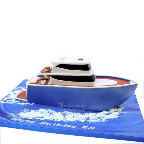 Yacht cake 2
