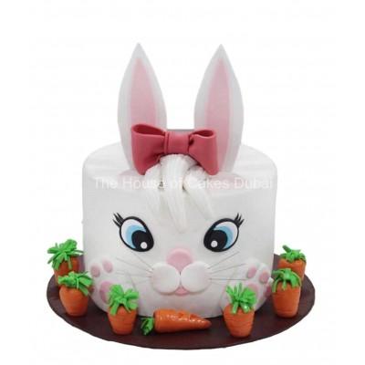 Cute bunny cake 3