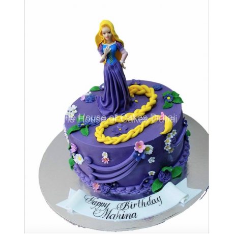 rapunzel cake 4 6