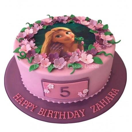 rapunzel cake 9 6