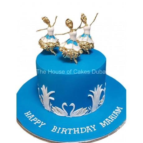 Ballerina cake 10