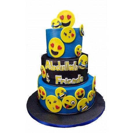 emoticons emoji cake 4 6