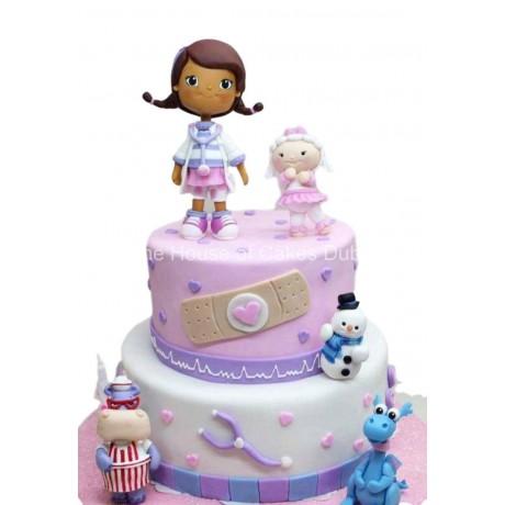 doc mcstuffins cake 2 6