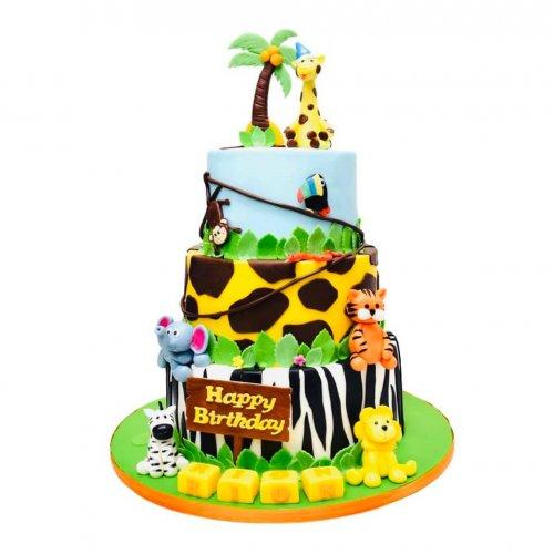 Jungle animals Cake 10