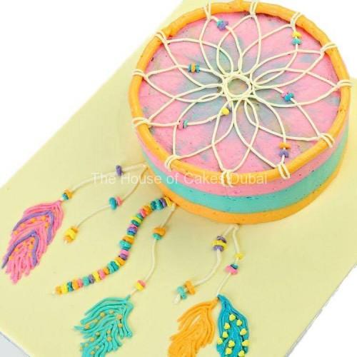 dreamcatcher cake 1 7