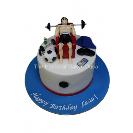 fitness and other favorite things cake 2 6