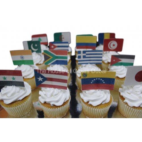 flag cupcakes 7