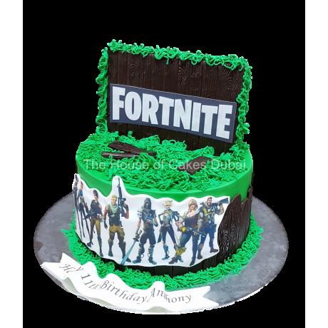 fortnite cake 3 6