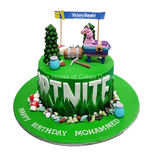 Fortnite cake 4