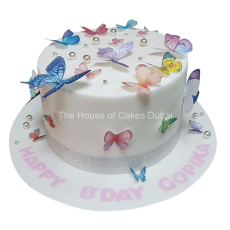 cake with butterflies 7 6