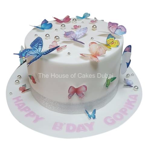 cake with butterflies 7 7