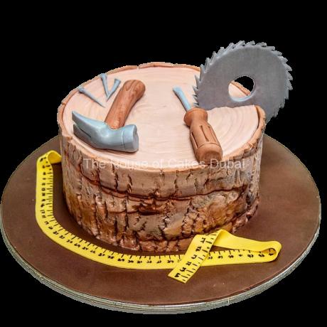 carpenter tools cake 6