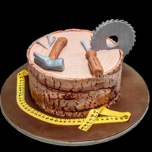 carpenter tools cake 7
