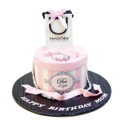 cake with pandora bag 13