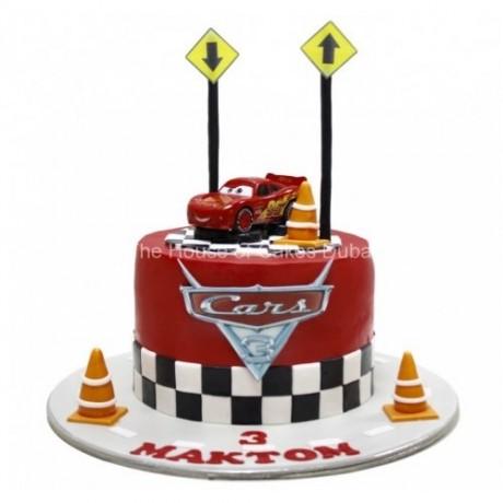 disney cars mcqueen cake 7 6