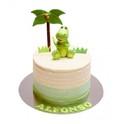 cute dinosaur cake 2 7