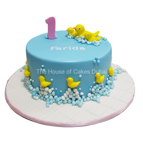 rubber ducks cake 8 6