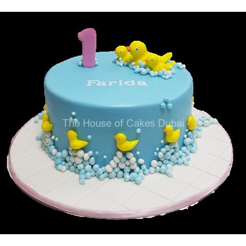 Rubber ducks cake 8
