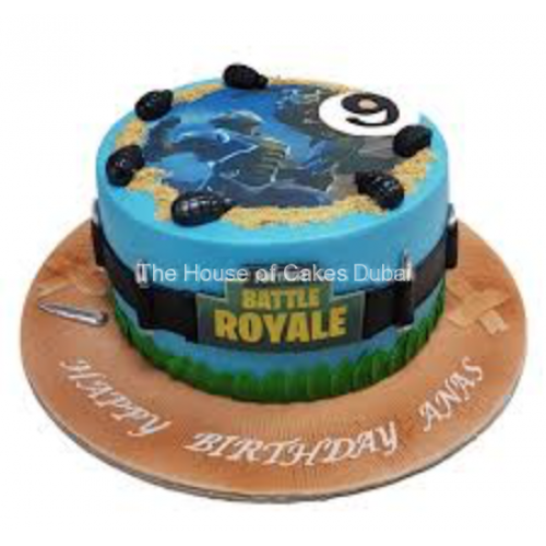 Fortnite cake 8