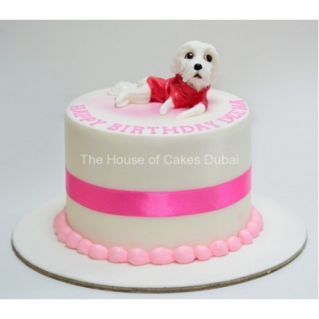 cute puppy dog cake 6